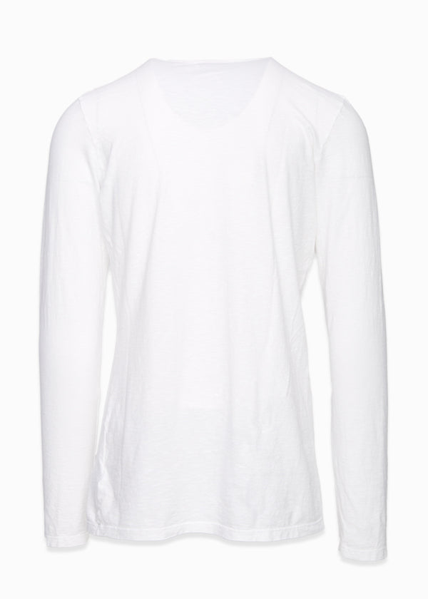 Cotton Henley Long Sleeve-Ari Soho
