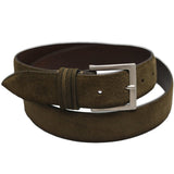 Ari Suede Belt In Brown-Ari Soho