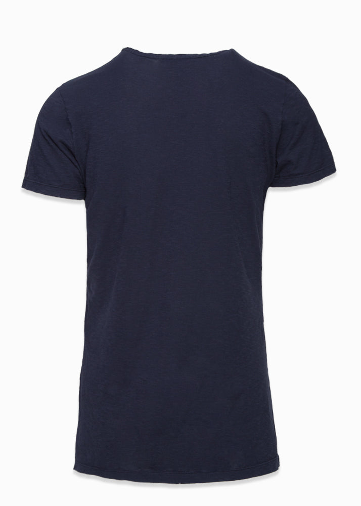 Cotton V-Neck T-Shirt-Ari Soho