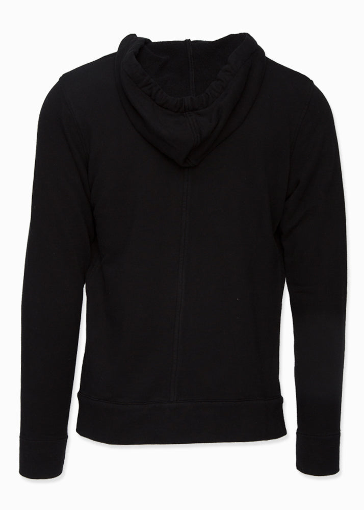Cotton Zip-Up Drawstring Hoodie-Ari Soho