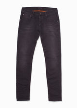 Black Faded Denim Jeans-Ari Soho