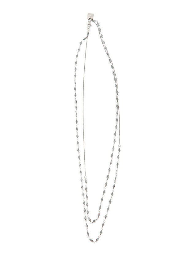 Goti Bodhi Silver Necklace-Ari Soho