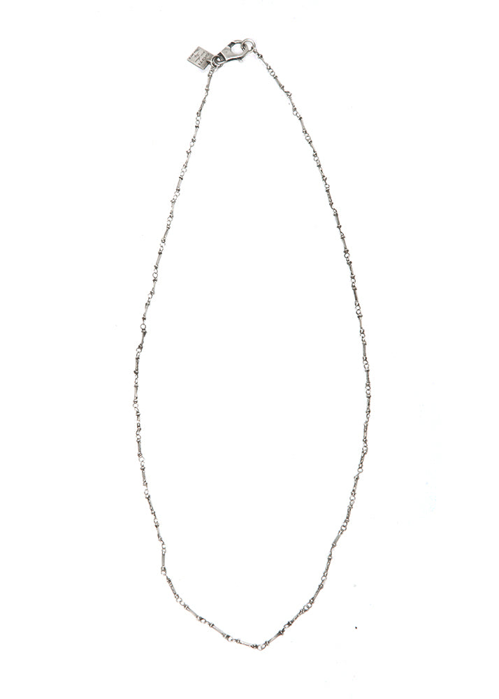 Goti Coyote Silver Link Necklace-Ari Soho