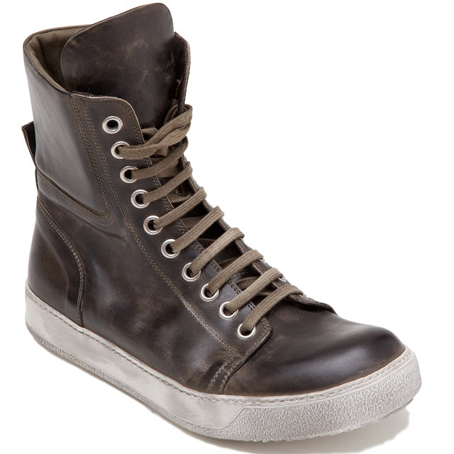 Green High-Top Sneakers-Ari Soho