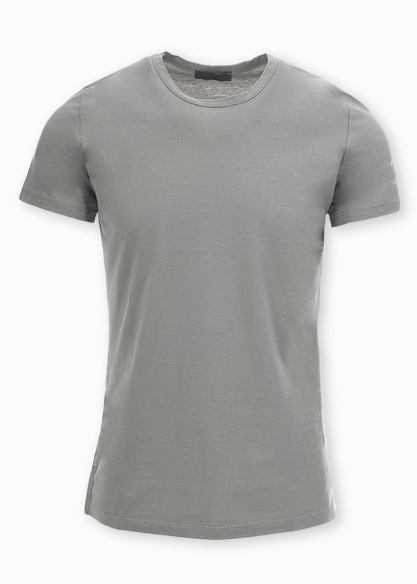 CREWNECK T-SHIRT GRAY