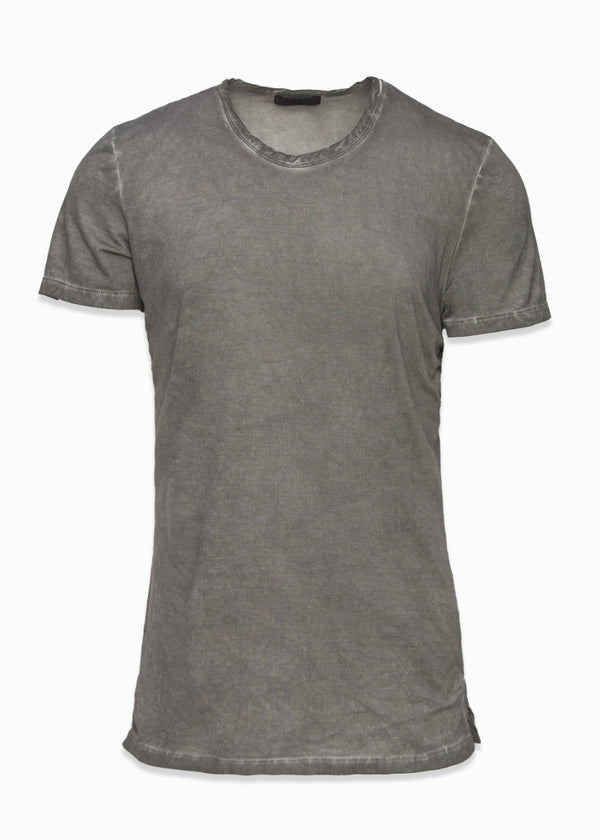 Cotton Stretch Crewneck T-Shirt-Ari Soho