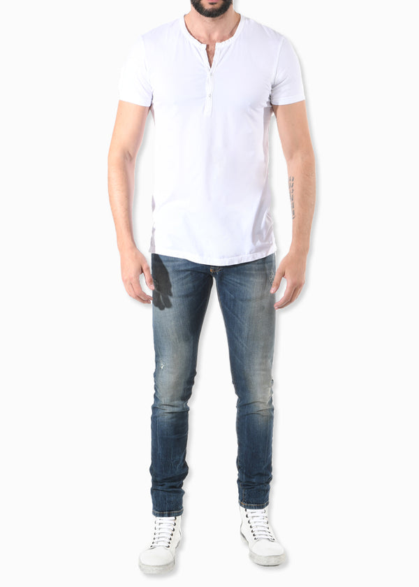SHORT SLEEVE HENLY