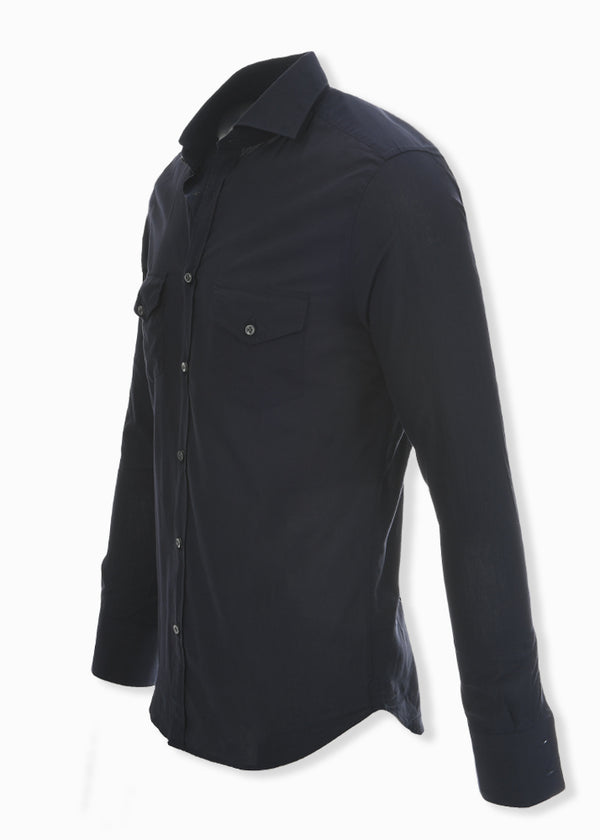 ASPEN BUTTON DOWN SHIRT NAVY