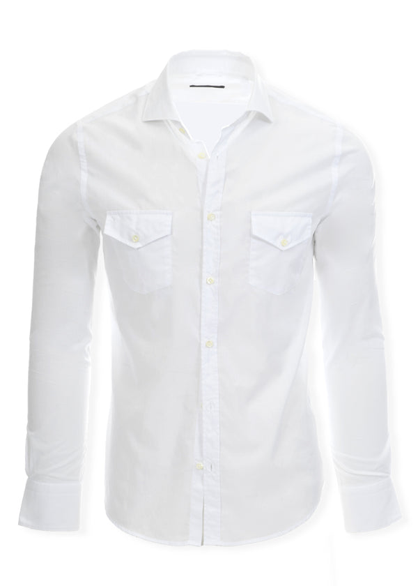 ASPEN BUTTON DOWN SHIRT WHITE