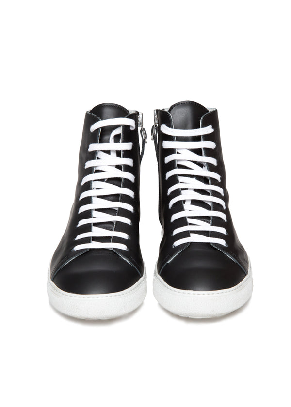 Mercer Black High Top Sneaker-Ari Soho