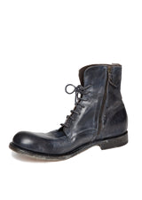 Blue Leather Boot-Ari Soho