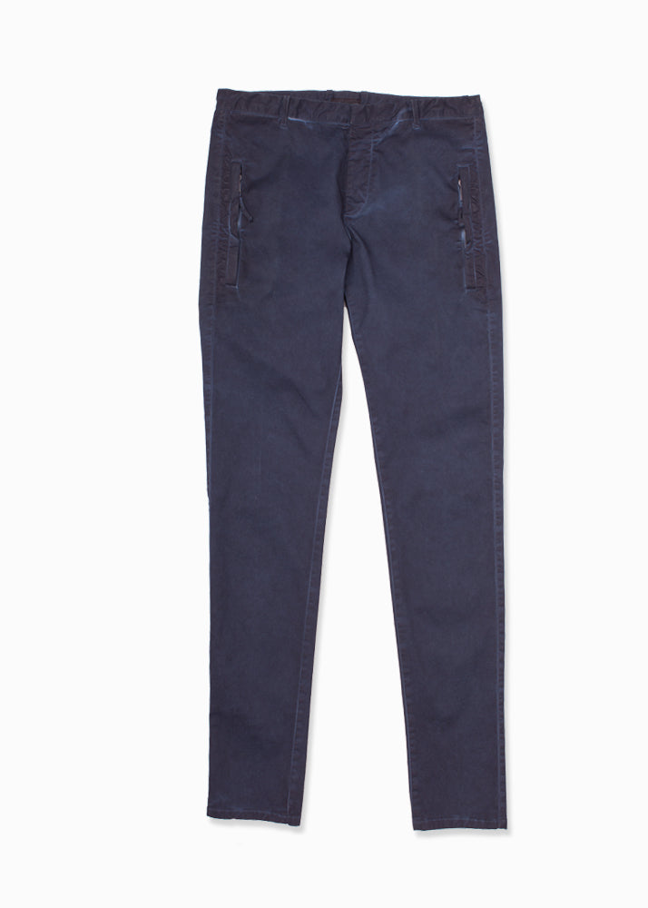 Cotton Stretch Trousers-Ari Soho