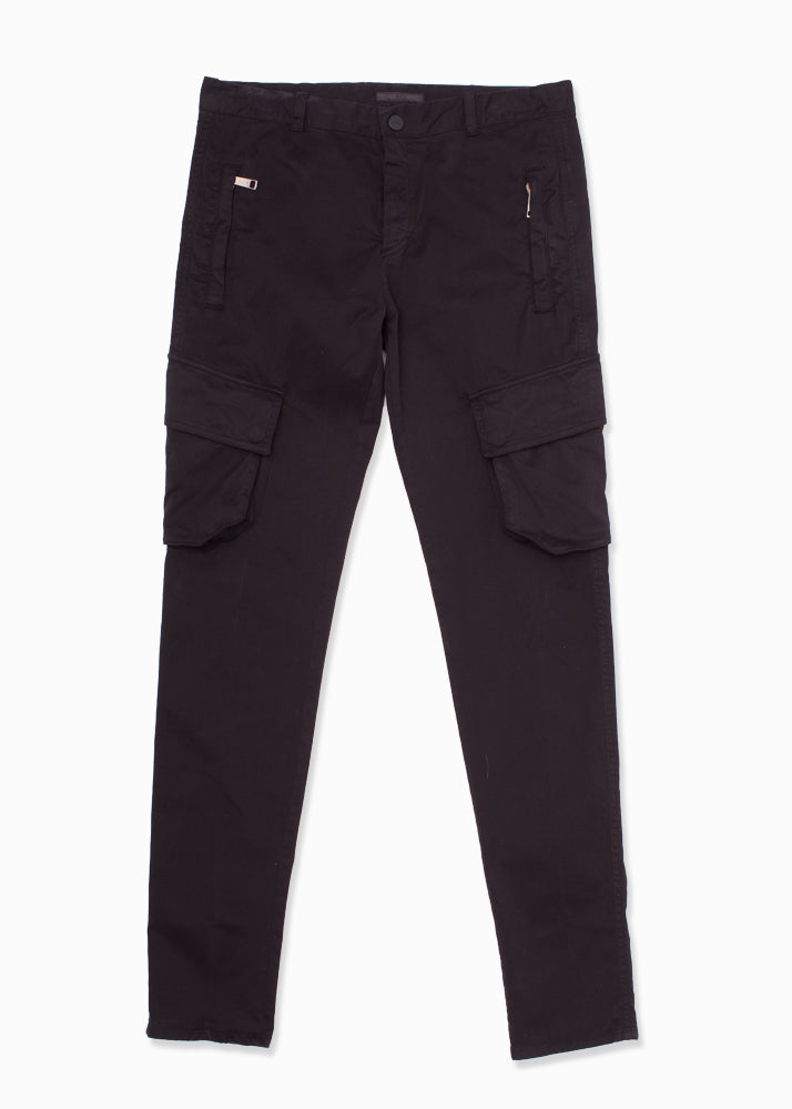 Cotton Stretch Cargo Pant-Ari Soho