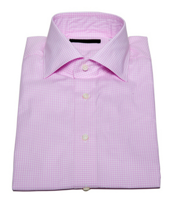 Check Button Down in Pink-Ari Soho