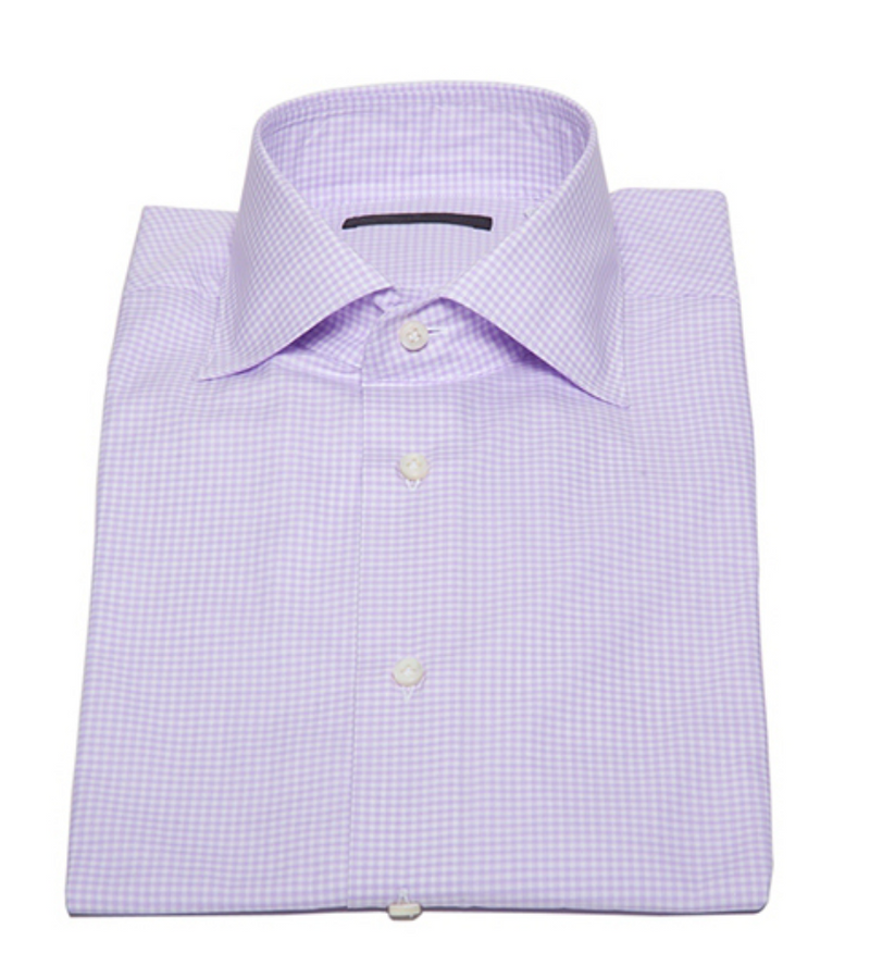 Check Button Down in Purple-Ari Soho