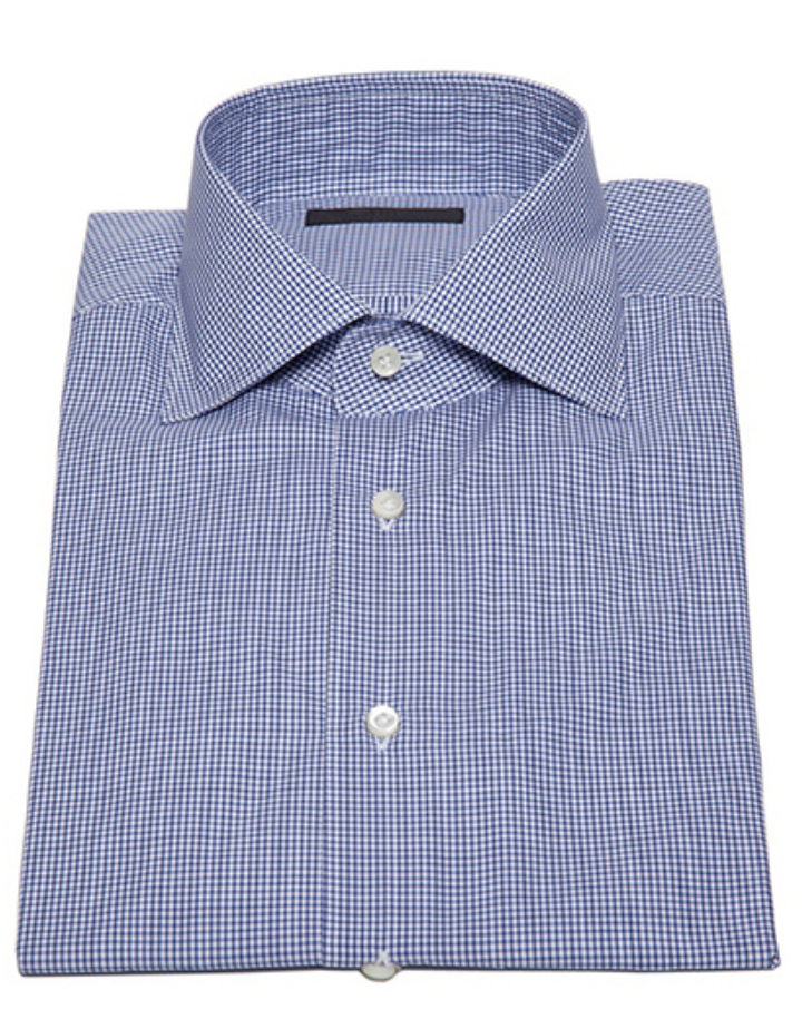 Graph Check Button Down in Dark Blue-Ari Soho