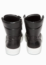 Leather High Top Sneaker-Ari Soho