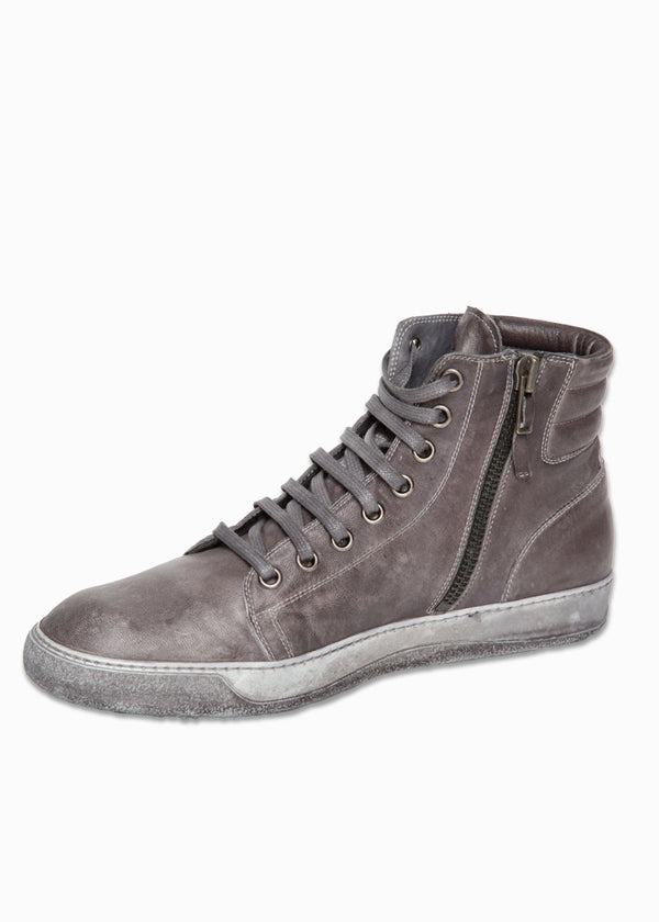 Overdyed Leather Sneaker-Ari Soho