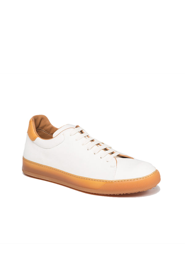 Spring St. Sneaker in White-Natural-Ari Soho