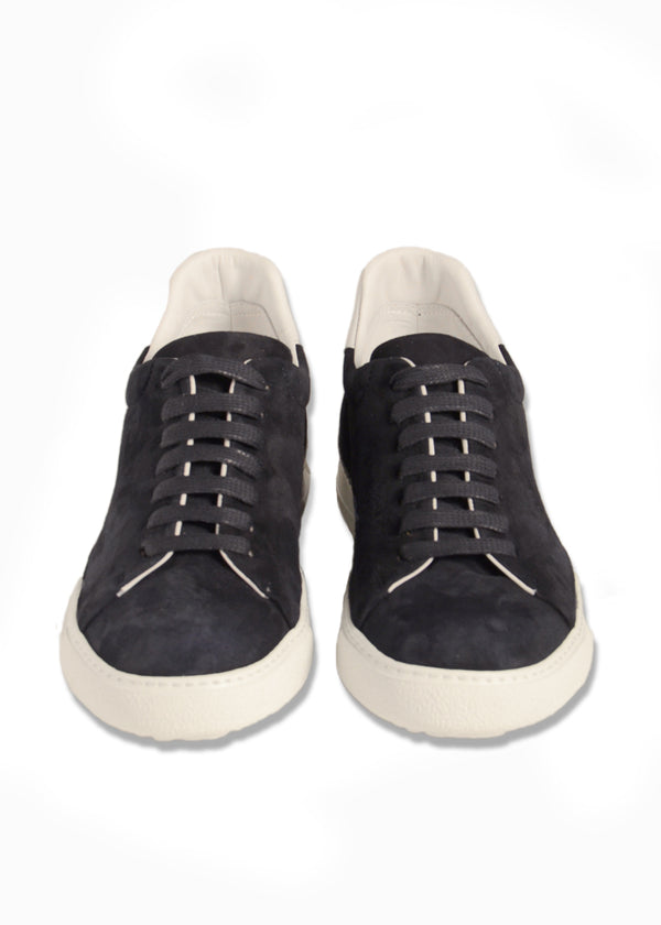 SoHo Sneaker in Navy Suede-Ari Soho