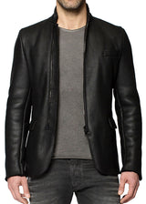The Ricardo Shearling In Black-Ari Soho