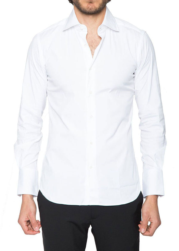 Ari1 Signature Shirt in White-Ari Soho