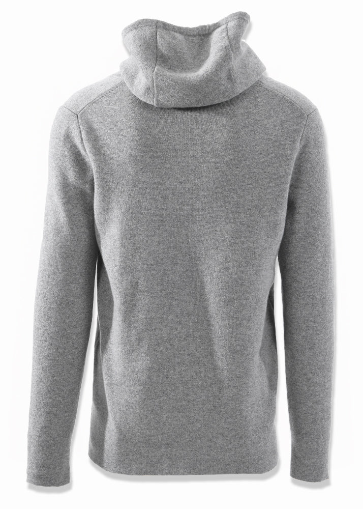 Cashmere Knit Hoodie