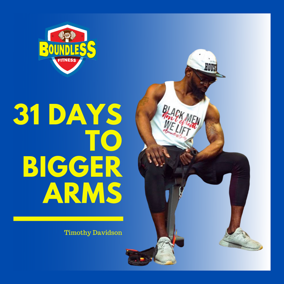31 Days To Bigger Arms - eBook