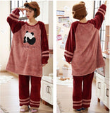 panda-winter-pajamas-woman
