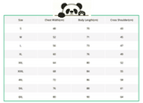 size-guide-panda-t-shirt