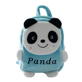 Small-Cute-Panda-Backpack-green-front