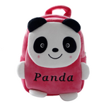 Small-Cute-Panda-Backpack-red-front