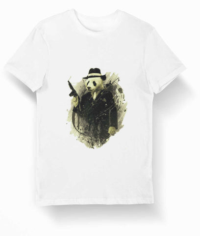 Gangster Panda T-Shirt | We Love Panda
