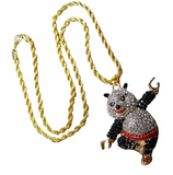 necklace-panda-kungfu-iced-out