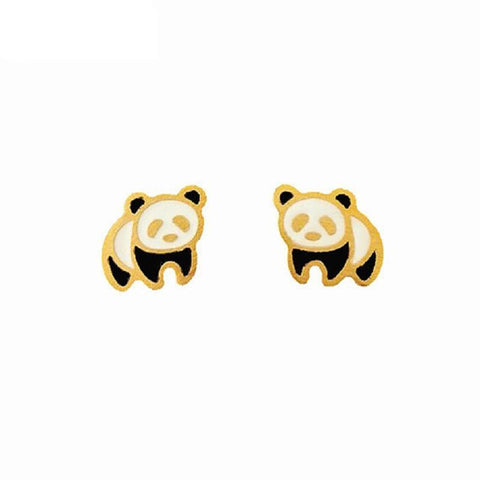 Panda Earrings  For Girls