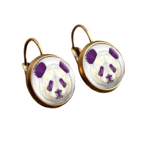 "Panda Earrings ""Souvenir"""