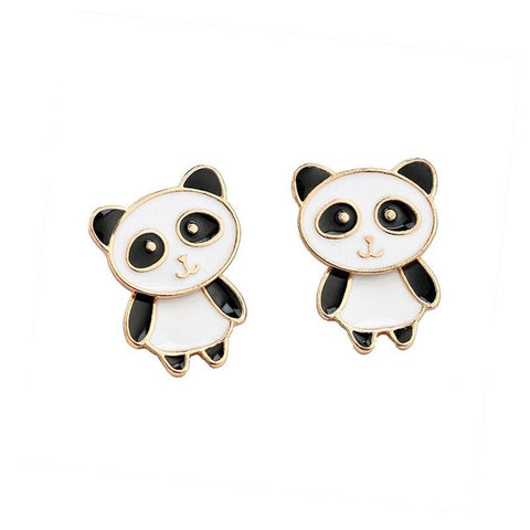 Panda Earrings  Woman