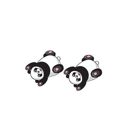 Panda earrings Happy