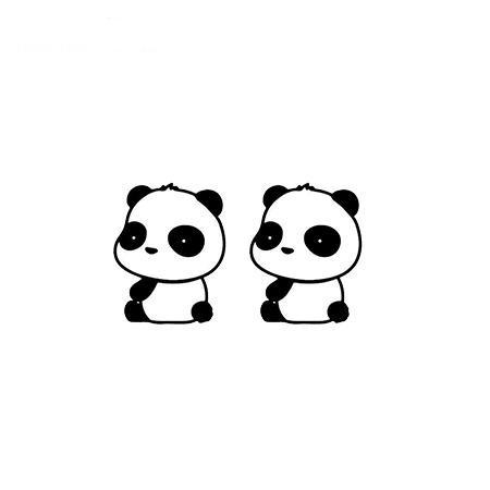 Panda Earrings Interested