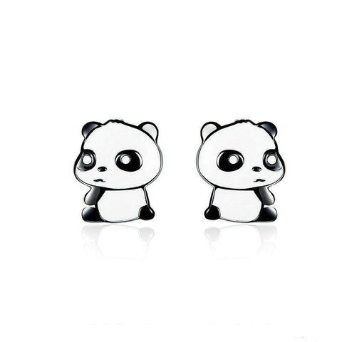 Panda Earrings Upset