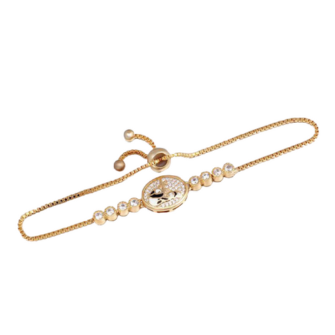 panda-parent-bracelet-gold