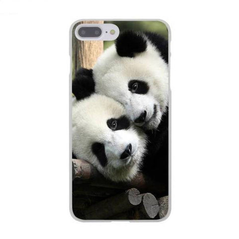 Panda phone Case  Mom and Dad