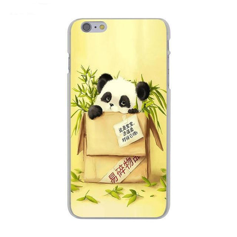Panda phone Case  Panda In The Box