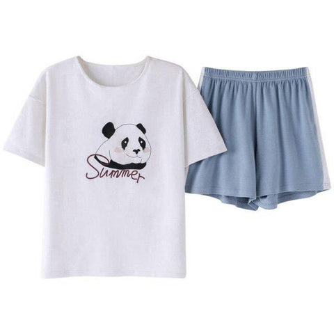 Panda Short Pajamas l We Love Panda