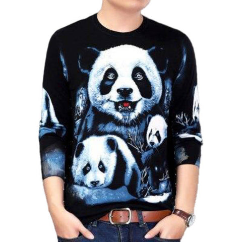 Panda Sweater knitting pattern | We Love Panda