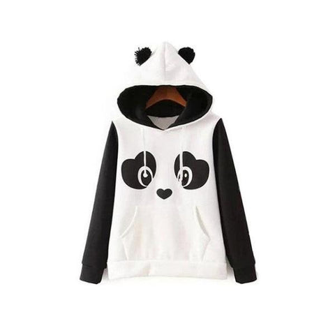 Panda Sweatshirt With Ears | We Love Panda