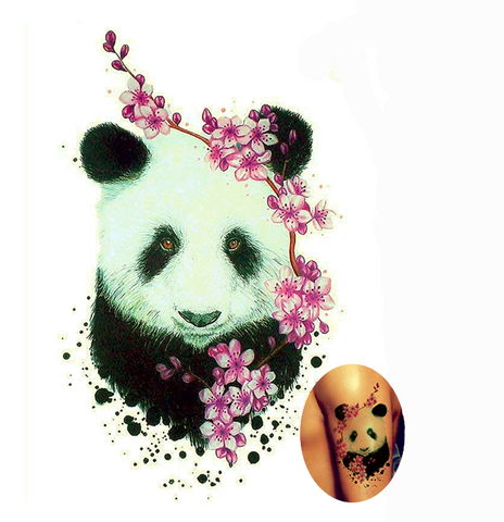 Panda Tattoo Rose | We Love Panda