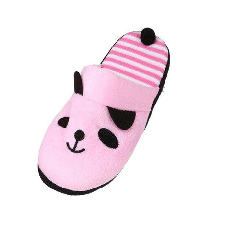 Pink Panda Slippers | We Love panda