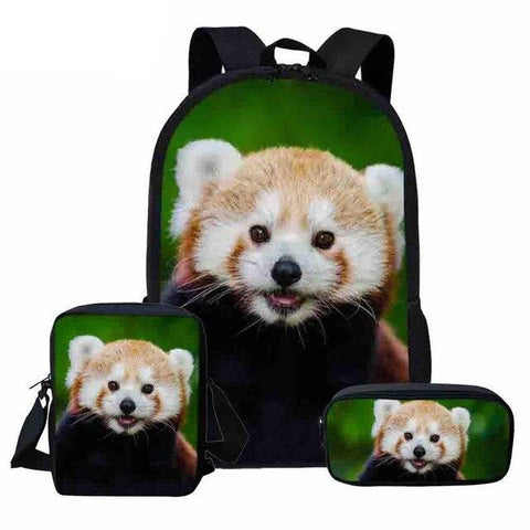 set-panda-red-backpack-face
