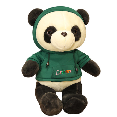 green-panda-plush-leisure